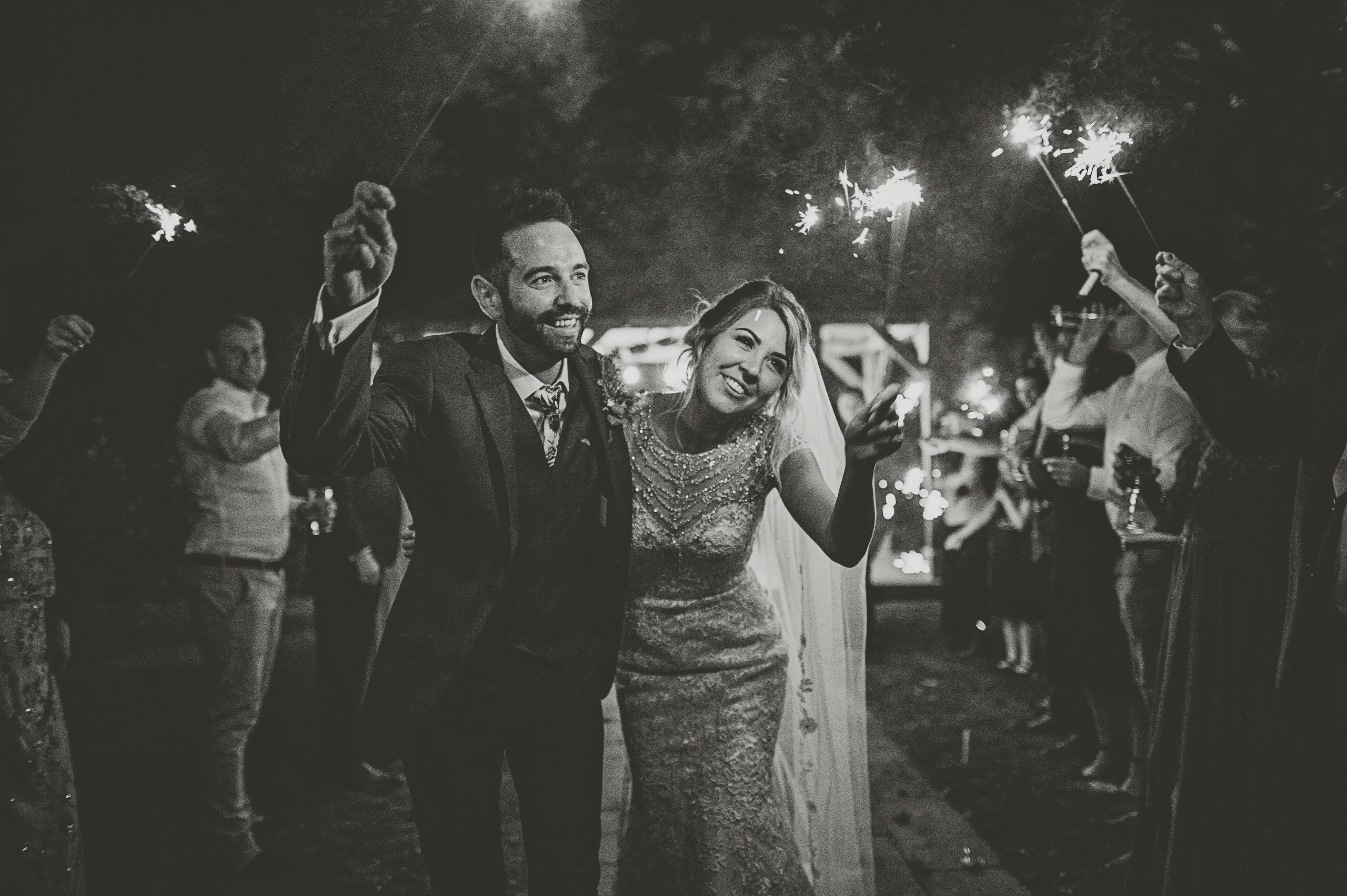 Wedding sparklers cornwall