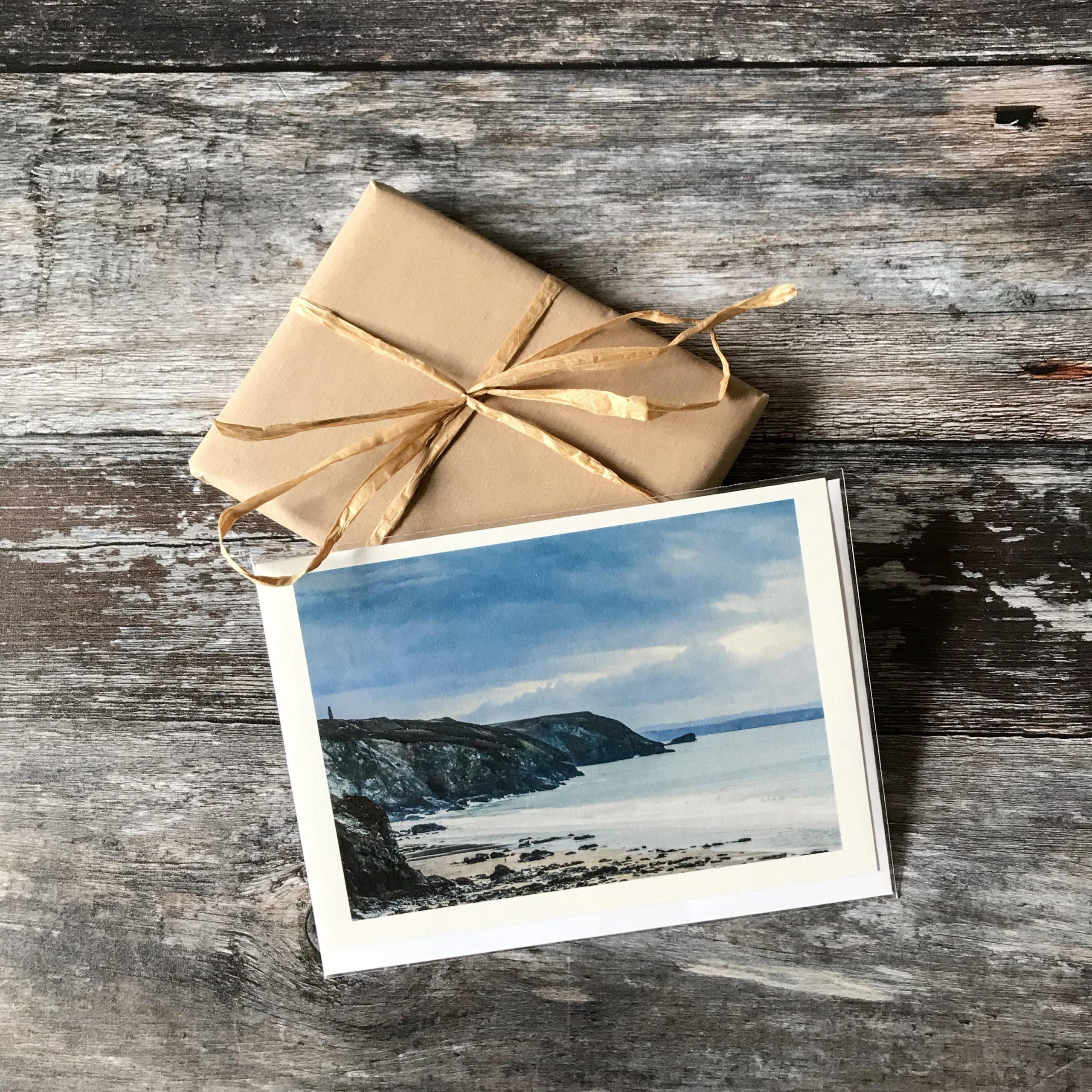 Porthtowan greeting card